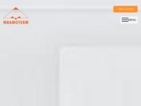Frontpage screenshot for site: Mramoterm (http://www.mramoterm.com)