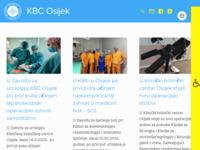 Slika naslovnice sjedišta: Klinička bolnica Osijek (http://www.kbo.hr)