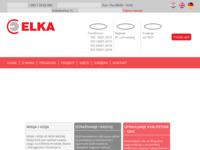 Frontpage screenshot for site: Elka d.d. Tvornica električnih kabela (http://www.elka.hr/)