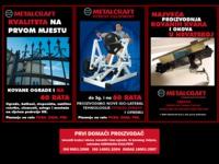 Slika naslovnice sjedišta: Metalcraft d.o.o. Bjelovar (http://www.metalcraft.hr/)