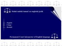 Frontpage screenshot for site: Sudski tumač za engleski jezik, Split (http://free-st.htnet.hr/inessmoje)
