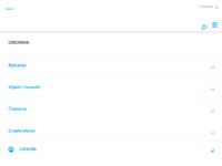 Frontpage screenshot for site: Creditreform - poslovne usluge (http://www.creditreform.hr)