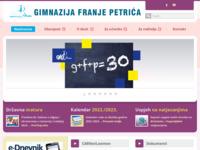 Slika naslovnice sjedišta: Gimnazija Franje Petrića - Zadar (http://www.zd-mioc.hr/)