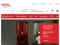 Frontpage screenshot for site: Status - izvorna kućna pomagala (http://www.status-trgovina.hr)