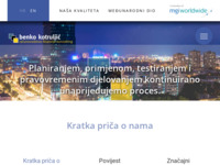Frontpage screenshot for site: (http://www.benko-kotruljic.hr/)