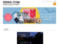 Frontpage screenshot for site: Hena com (http://www.hena-com.hr/)