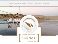Frontpage screenshot for site: Konoba Levrnaka (http://www.konoba-levrnaka.hr/)