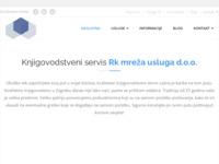 Frontpage screenshot for site: (http://www.knjigovodstvo-kralj.hr/)