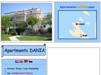 Frontpage screenshot for site: Apartmani Matahlija Ruža - Lopar (http://www.apartments-croatia.info/176/en.htm)