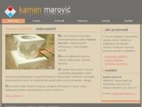 Slika naslovnice sjedišta: Kamenoklesarski obrt Kamen Marović (http://www.kamenmarovic.hr)