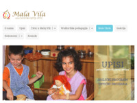 Frontpage screenshot for site: Waldorfski vrtić Mala vila - Rijeka (http://www.waldorfski-vrtic-rijeka.hr)
