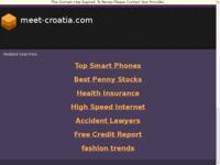 Frontpage screenshot for site: Globe Charter - krstarenje Jadranom (http://www.meet-croatia.com/)