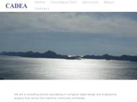 Frontpage screenshot for site: Cadea d.o.o. - savjetodavne usluge (http://www.cadea.hr/)