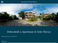 Frontpage screenshot for site: apartmani Njivice otok Krk (http://www.apartmani-njivice.com/)
