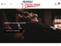 Frontpage screenshot for site: Frizerski pribor (http://www.frizerskipribor.com)