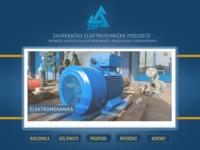 Frontpage screenshot for site: Zagrebačko elektrotehničko poduzeće d.d. (http://www.zep.hr/)