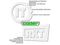 Frontpage screenshot for site: Coder d.o.o. Split (http://www.coder.hr/)
