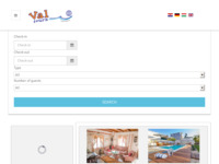 Frontpage screenshot for site: Val Tours turistička agencija (http://www.val-tours.hr)