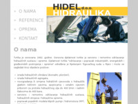 Slika naslovnice sjedišta: Hidel d.o.o. Rijeka (http://www.hidel.hr)