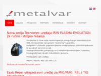 Slika naslovnice sjedišta: Metalvar d.o.o. Zagreb (http://www.metalvar.hr/)
