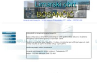 Frontpage screenshot for site: (http://www.limarija-bosancic.hr/)
