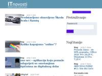 Slika naslovnice sjedišta: IT novosti (http://www.itnovosti.com/)