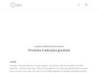 Frontpage screenshot for site: Hrvatski etno svijet (http://scena.hgu.hr/stjepan-veckovic)