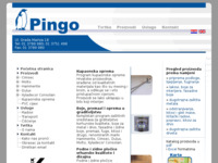 Frontpage screenshot for site: (http://www.pingo.hr/)
