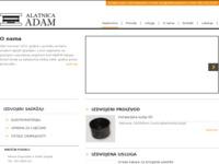 Slika naslovnice sjedišta: Alatnica Adam (http://www.alatnicaadam.hr)