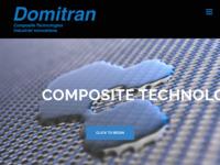 Frontpage screenshot for site: Domitran (http://www.domitran.com)