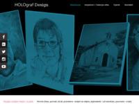 Frontpage screenshot for site: Holograf (http://www.holograf.hr/)