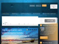 Frontpage screenshot for site: Gdje na odmor? Odgovor je tu... (http://www.gdjenaodmor.com)