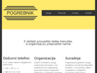 Slika naslovnice sjedišta: Pogrebnik (http://www.pogrebnik.hr)