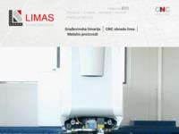 Slika naslovnice sjedišta: Limas d.o.o. - limarija Skendrović (http://www.limas.hr/)