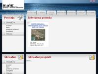 Frontpage screenshot for site: (http://www.sak.hr/)