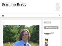 Frontpage screenshot for site: Branimir Krstić, gitarist i skladatelj (http://www.branimir.net)