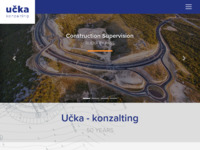 Frontpage screenshot for site: Učka-konzalting d.o.o. (http://www.ucka-konzalting.hr)