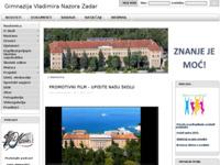 Slika naslovnice sjedišta: Gimnazija Vladimira Nazora - Zadar (http://www.gimnazija-vnazora-zd.skole.hr/)