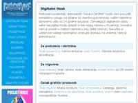 Slika naslovnice sjedišta: Degraf tiskara (http://www.degraf.hr/)
