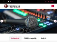 Frontpage screenshot for site: Turbo-X d.o.o. , Kolodvorska 147, Velika Gorica, Hrvatska 10410 (http://www.turbo-x.hr)