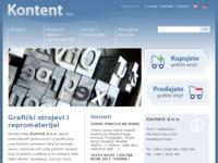 Slika naslovnice sjedišta: Kontent d.o.o. (http://www.kontent.hr/)