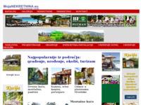 Slika naslovnice sjedišta: Portal Mojanekretnina (http://www.mojanekretnina.eu)