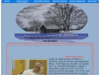 Frontpage screenshot for site: Ivan Šarić Baća, socijalni radnik u Helbronnu (http://free-vk.htnet.hr/Baca/)