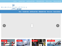 Slika naslovnice sjedišta: Sportski klubovi Marine Kaštela (http://sport.marina-kastela.hr)