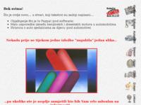 Frontpage screenshot for site: Josip Sabic - moje stranice (http://josip.purger.com)