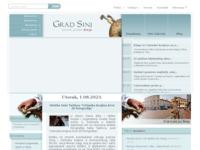 Slika naslovnice sjedišta: Grad Sinj (http://www.sinj.com.hr/)