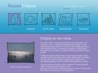 Frontpage screenshot for site: Pansion Unijana - Otok Unije (http://www.unijana.hr)
