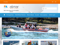 Frontpage screenshot for site: Alimar d.o.o. (http://www.alimar.hr)