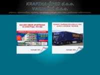 Slika naslovnice sjedišta: Krapina-šped d.o.o. (http://www.krapina-sped.hr)
