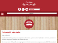 Frontpage screenshot for site: Restaurant & pansion Gardelin (http://www.gardelin.net)
